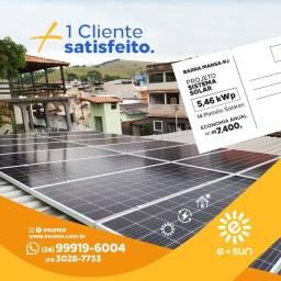Sistema Gerador de Energia Solar
