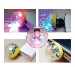 Mini Bola Magica Led Portatil Usb Celular - 7943