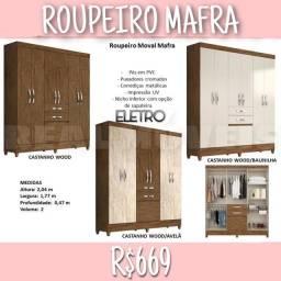 Guarda roupa Mafra/Guarda roupa Mafra /Roupeiro Mafra