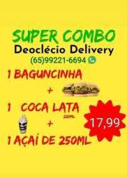 Super combo Deoclecio delivery