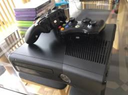Xbox 360 + Kinect + 6 jogos de brinde