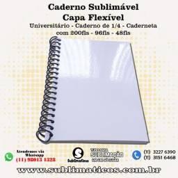 Cadernos Capa Flexível Para Sublimação