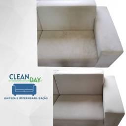 Limpeza de sofá higienização de colchão