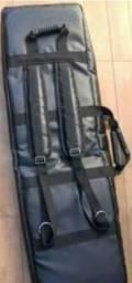 Título do anúncio: Bag Soft Case Couro Capota Marítima 6/8 (76 teclas). Novo