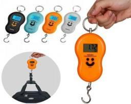 COD:0093 Balança Portátil Digital De Mão  Pesa Até 50kg