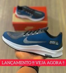 Tênis Nike Masculino Shield Leve Macio Confortável Corrida Academia Pronta Entrega
