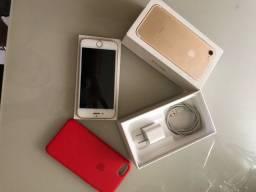 iPhone 7 128 giga dourado