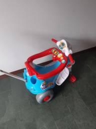 Motoca que virá triciculo tem efeito sonoro!!*****