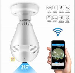 Lâmpada Câmera de Segurança 360°: Lâmpada Câmera de Segurança 360°