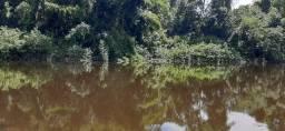 3 lotes medindo 22 mil metros com acesso ao rio nhumdiaquara