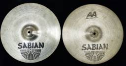 Chimbal Sabian Rock Hats Aa 14 - O Do Vinnie Paul