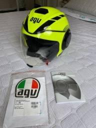 Vendo capacete Agv Fluid- XS 53/54.
