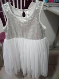 Vestido de festa infantil Tam 4 anos