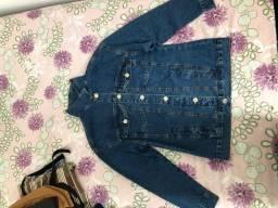 Jaqueta jeans nunca usada
