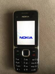 Nokia C2-01 preto Tudo Funcionando - Rádio Am/Fm Top