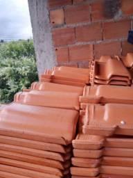 Vendo telha colonial resinada nova