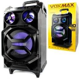 Caixa Bluetooth Acústica Multiuso Fm/usb/sd Até 150w Com Rodas Infokit - Vm-a8100