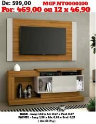 Vendo Barato P/ Vender Rápido - Rack Com Painel de TV até 55 Plg. Novo na Caixa