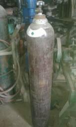 Cilindro Oxigênio Solda Mig Mistura Argônio 7.0m3