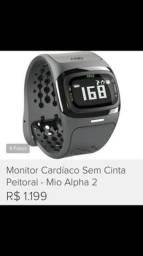 Relógio alpha mio - monitor cardíaco