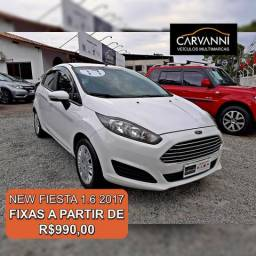 Ford New Fiesta 1.6 SE Hatch - Completo - 2017