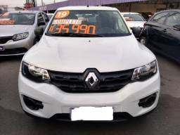 Renault Kwid 1.0 12v Sce Flex Zen 1.0 2018/2019 + IPVA 2020 Promoção 33.990,00 - 2018