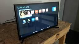 Smart TV LED 32 Samsung com Wi-Fi - Conversor Digital 2 HDMI 1 USB