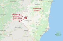 Vende-se Fazenda 425,98 ha no Extremo Sul da Bahia - Itanhém