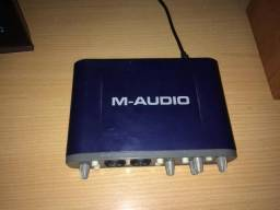 Placa Interface De Audio Fast Track Pro 4x4