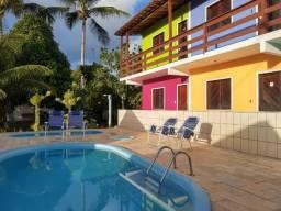 Pousada Villa Graciela na praia de Cururupe - Ilhéus -Sul - BA