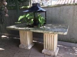 Mesa grande para jardim
