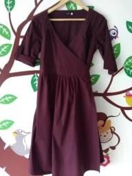 e327125169 Vestido gestante maria barriga
