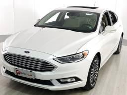 Ford Fusion Titanium 2.0 GTDI Eco. Awd Aut. - Branco - 2017 - 2017