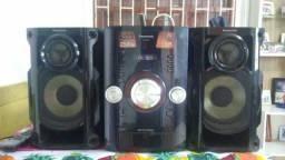 Rádio AM FM 250W Panasonic