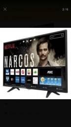 Tv smart 43 nova na caixa