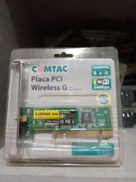 Placa de Rede PCI Wireless Comtac