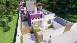 Lançamento! Casas lineares com terraço/ churrasqueira, Jardim Bela Vista, Rio das Ostras.