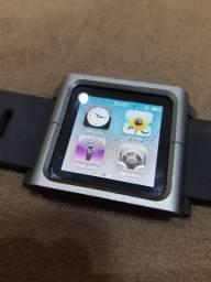 iPod nano 6a geração + pulseira Lunatik