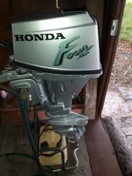 Motor de Popa Honda 15 HP Usado / Ano 2000