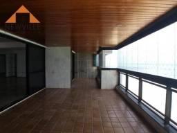Apartamento com 4 quartos para alugar, 455 m² por R$ 12.955/mês - Boa Viagem - Recife/PE