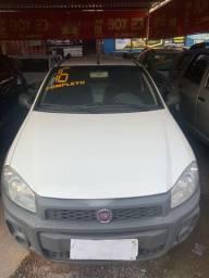 Fiat strada 2016 + GNV (Único Dono, entrada+ 48x 636,00)
