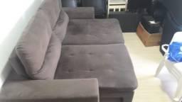 Sofá 3 lugares, retrátil, reclinável na Rua Rio Grande do Norte, Chapecó - SC