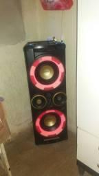 Caixa de som da Philips nx5pro