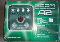 Pedaleira Zoom A2 (Acoustic Effects Pedal)
