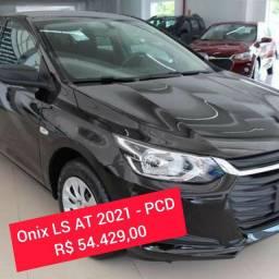 Chevrolet Onix LS Automático 2021 - PCD