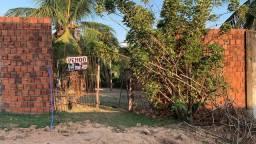 Terreno chácara Ipe com casa inacabada