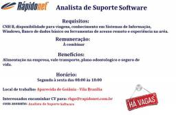 Analista de suporte Software