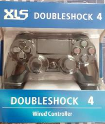Controle cm fio PS4 novos.(Aceito cartão)