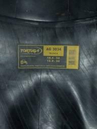 Câmara de pneu agrícola.