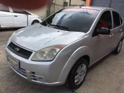 Fiesta sedan 1.6 8v flex 2009/2009 prata